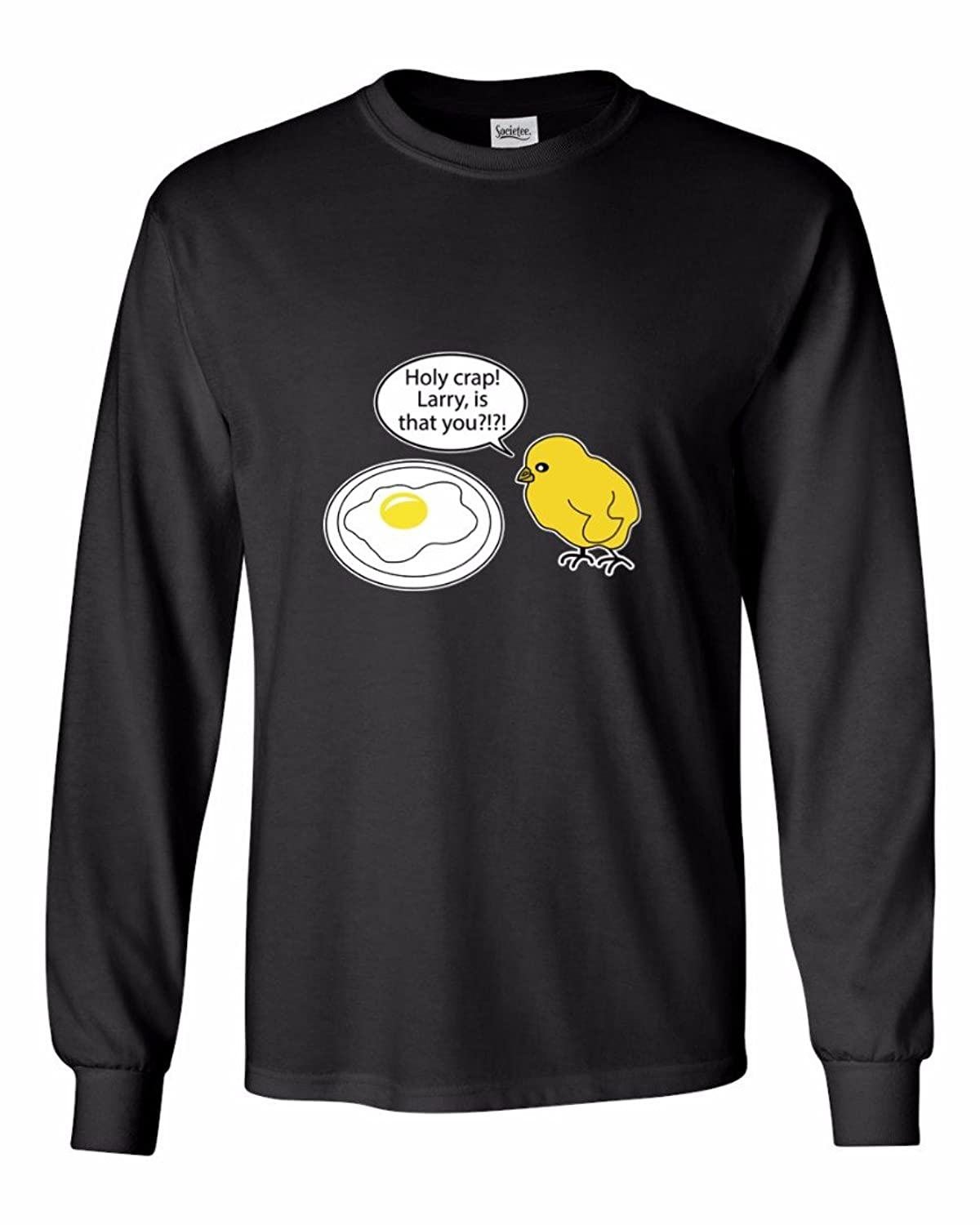 Holy Crap! Larry,Is That You@!@! Funny - Men's Long Sleeve T-Shirt