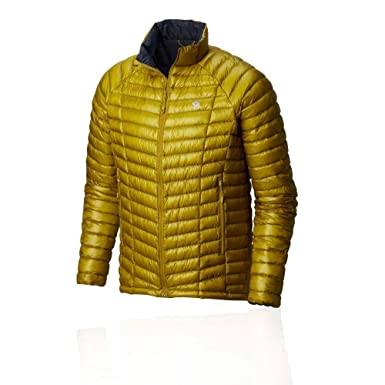 98312cf6537 Mountain Hardwear Mens Ghost Whisperer Insulated Down Water Repellent Jacket,  Non-Hooded - Dark