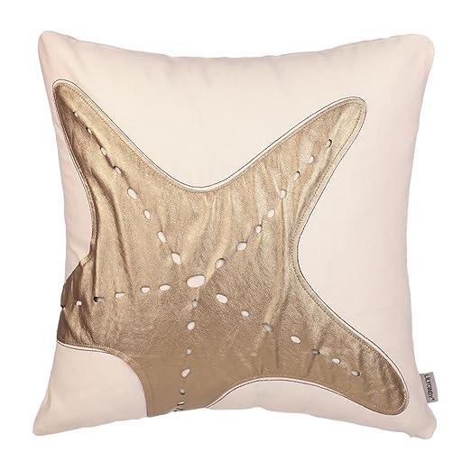 xubox bordado manta fundas de almohada de estrella de mar ...