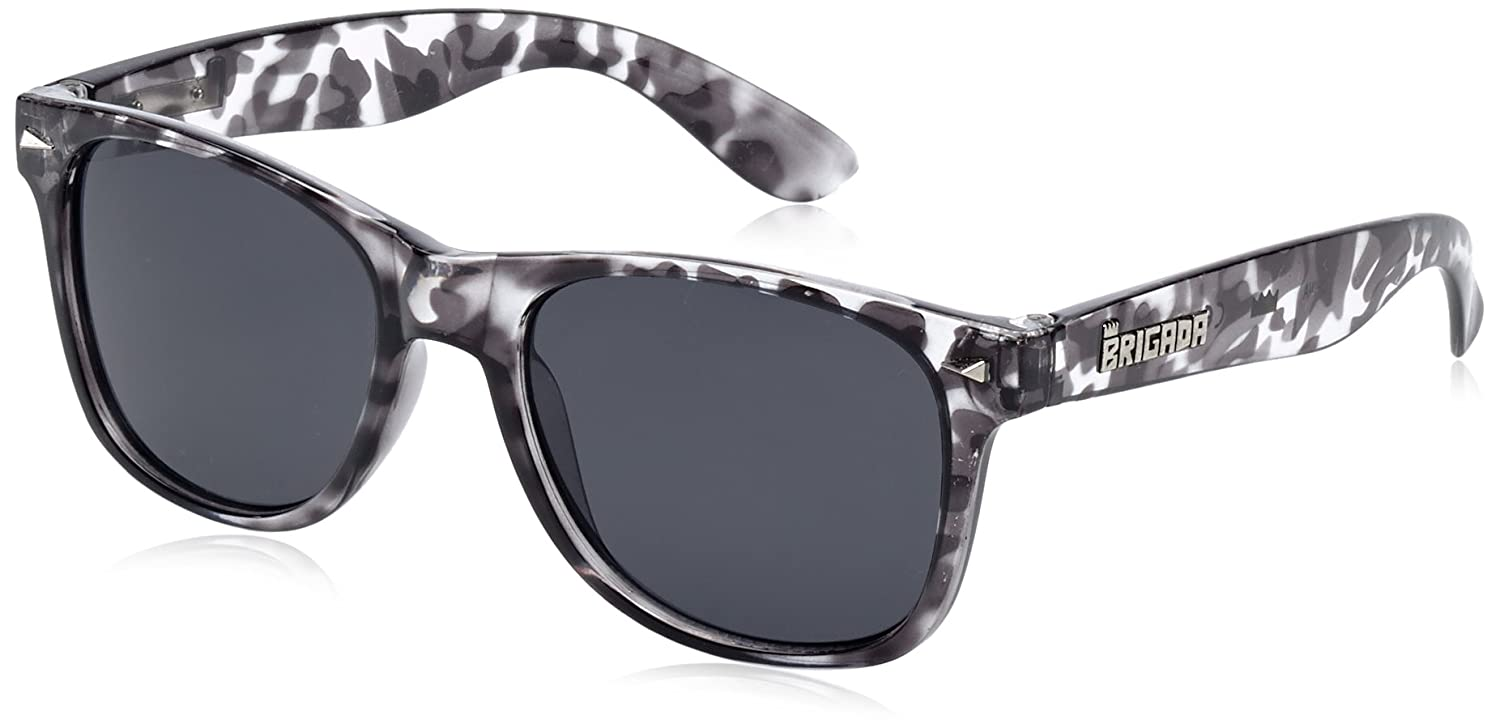 BRIGADA Sonnenbrille Glasses Lawless, Grey Tortoise/Smoke Lens, One size, BRGGLALAWLES