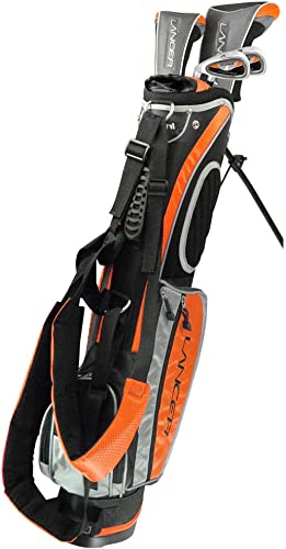 Intech Lancer Junior Golf Set Age 8-12, Orange