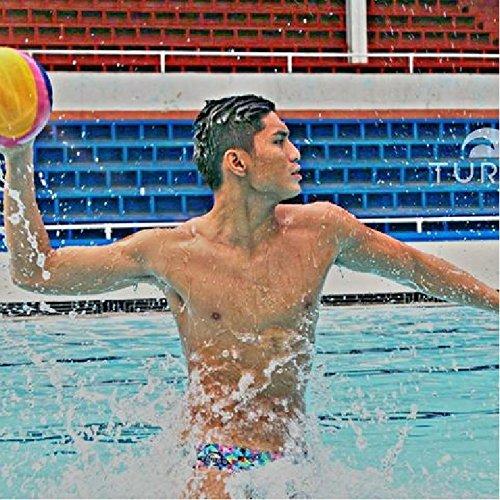 Turbo Bañador Origami Bañador Hombre pelotas de agua Triatlón, bunt schwarz, xx-large: Amazon.es: Deportes y aire libre