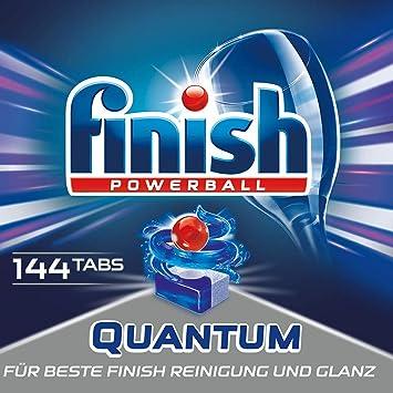 Finish Quantum - Detergente en pastillas para lavavajillas, con ...