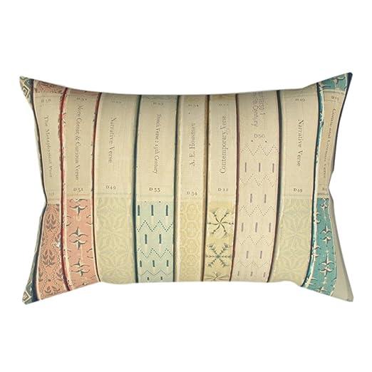 display08 Animal flores belleza sala de cojín manta funda de almohada sofá cama decoración, poliéster, 10#, 11.81