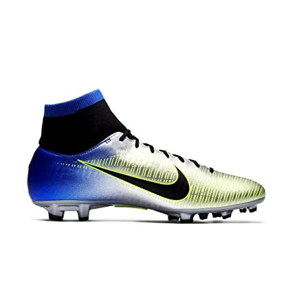 Nike Zapatos Fútbol rs-04 Neymar DF FG, Gris, 44.5