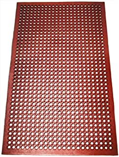 New Star 1 Pc Heavy Duty Red 36x60 Inch Restaurant / Bar Grease Resistant  Rubber Floor Home Design Ideas