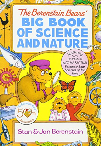 The Berenstain Bears' Big Book of Science and Nature (Dover Children's Science Books) -