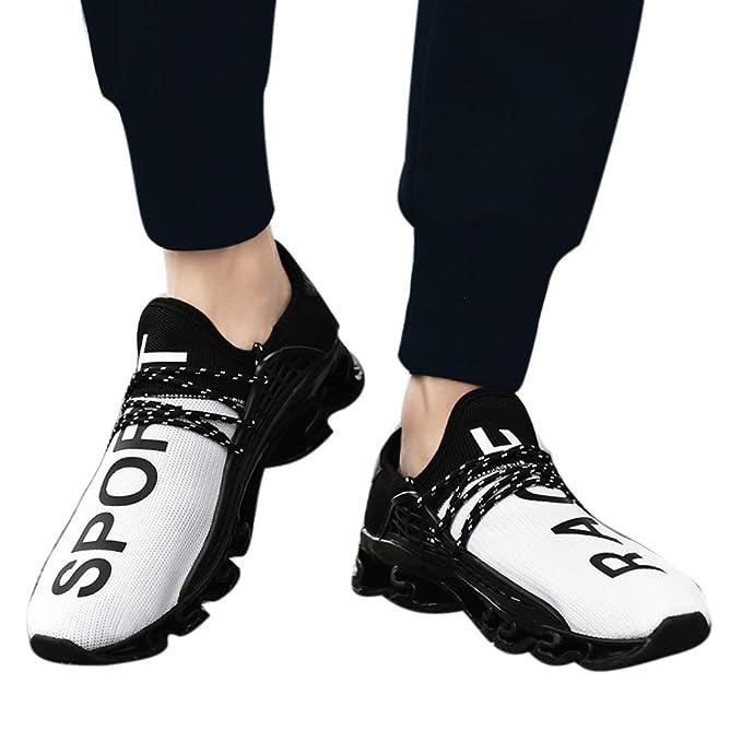 0e9a407b75b01 Beikoard-scarpa da Ginnastica in Maglia Elastica per Uomo Scarpe Sportive da  Corsa Traspiranti Sportive da Esterno  Amazon.it  Abbigliamento
