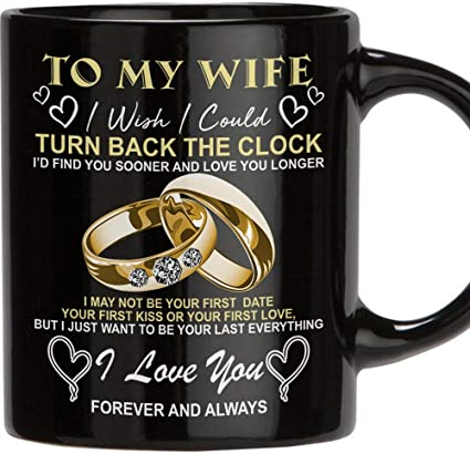 Teravex Birthday Gifts For Her Best Wife Gifts Ever 11 Oz Ceramic Coffee Mug Wedding Anniversary Gift For Women Wife Gifts From Husband Birthday Gifts For Wife Black Amazon Co Uk Baby,Hanging Curtains From Ceiling Track