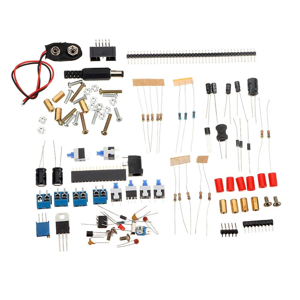 HDHUA Modification Accessories Based On 51 Single-chip MCU with Shell DIY Inductance Capacitance Frequency Meter Tester Kit
