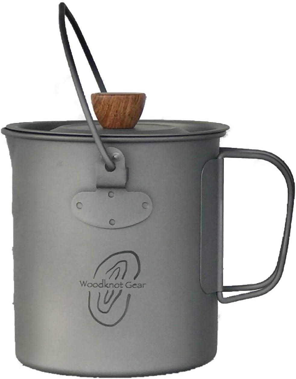 750ml titanium coffee pre