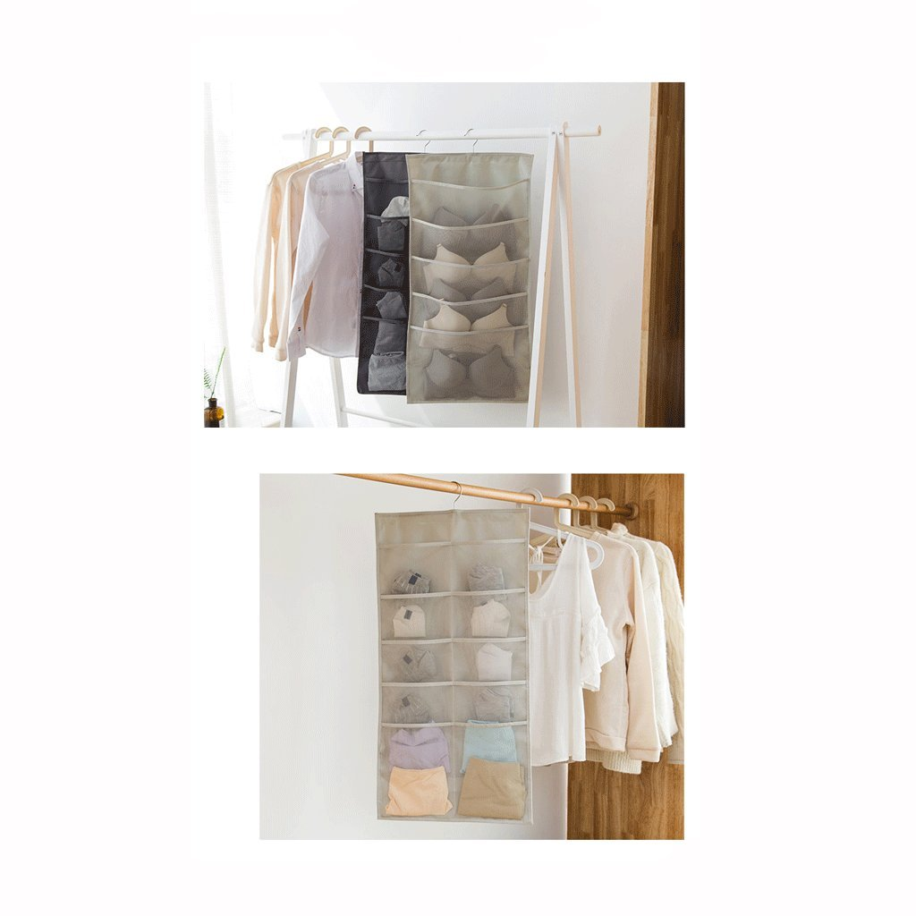 Color : B XXT-Shoe bag Oxford Cloth Storage Bag Underwear Socks Storage Bag Multifunctional Storage Bag Sundries Storage Bag