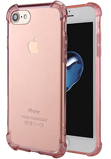 brand new cd53f 5c790 for iPhone 7 Case, for iPhone 8 Case, Matone Crystal Clear Shock Absorption  Technology Bumper Soft TPU Cover Case for iPhone 7 (2016)/iPhone 8 (2017)  ...