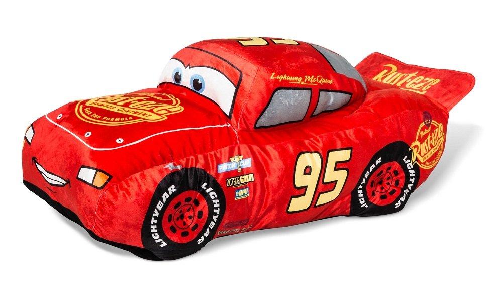 Disney Cars Lightning McQueen Red Body Pillow (36''x18'')