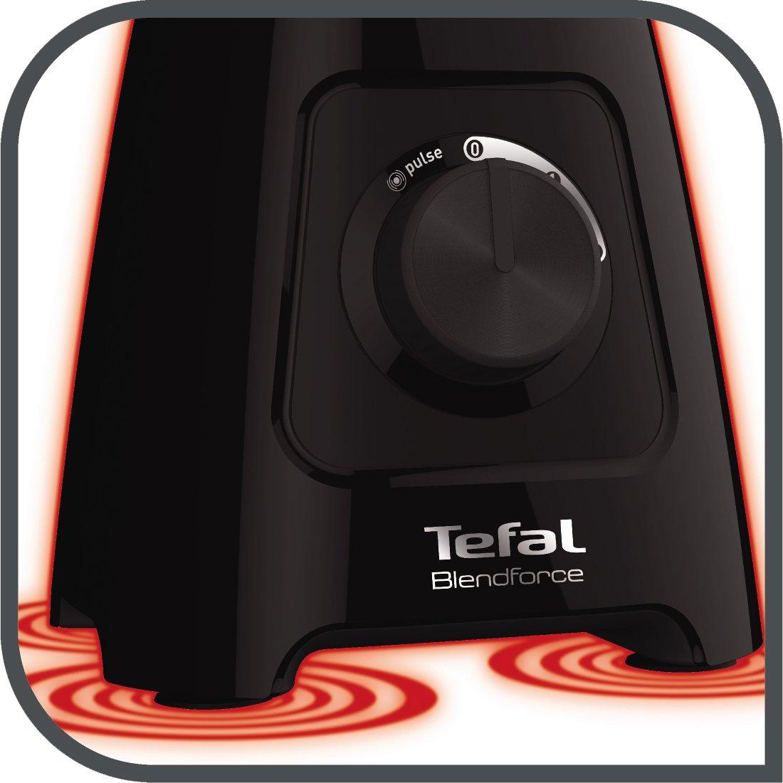 600 W Black 1.5 liters Tefal BL420840 Blendforce II Blender with Plastic Jug