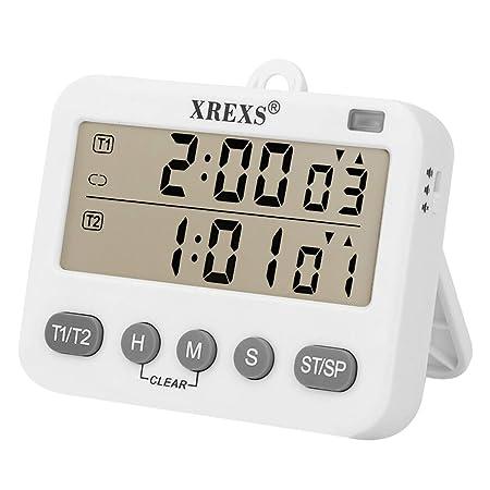 XREXS Temporizador de cocina digital con temporizador de ...
