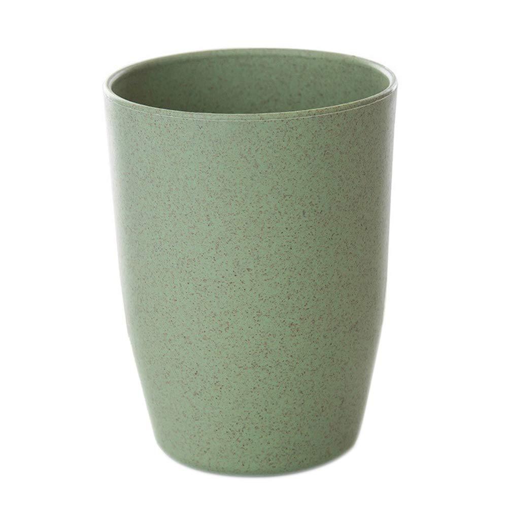 super1798 Practical Plastic Toothbrush Cup Holder Portable Bathroom Washing Travel Home Gargle Mug Green