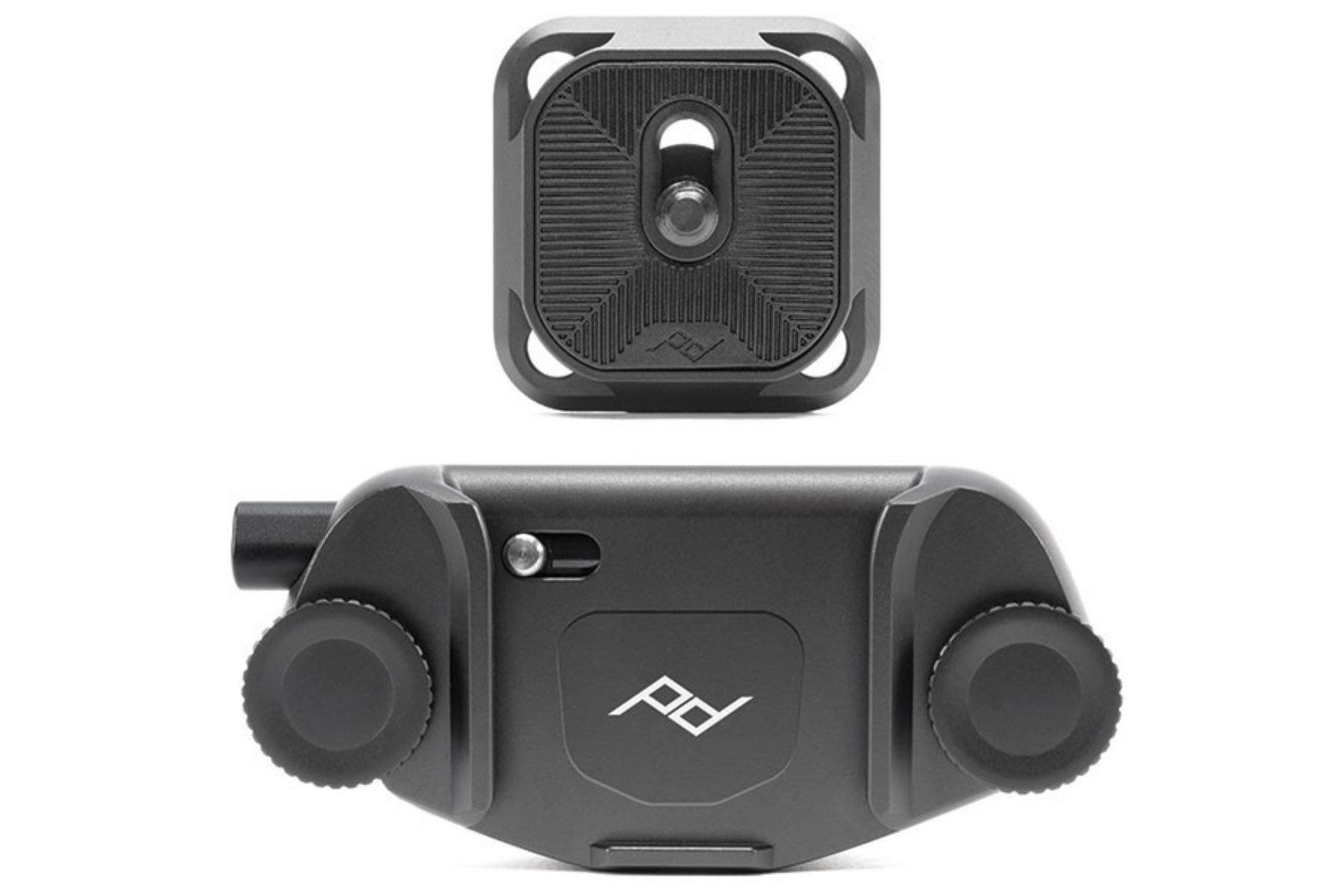 Peak Design Capture Camera Clip V3 (Black with Plate) by Peak Design