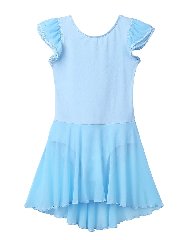 TiaoBug DRESS ガールズ B07CNCH7GG スカイブルー 43528