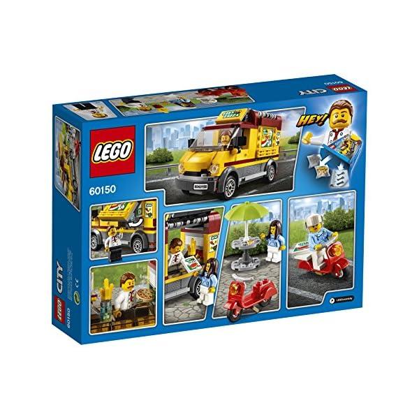LEGO- City Furgone delle Pizze, Multicolore, 60150 5 spesavip