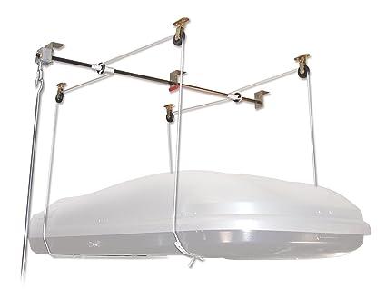 amazon com thule 571 roof mount cargo box storage lift sports rh amazon com