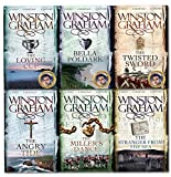 Winston Graham Poldark Series 6 Books Collection Set (Poldark books 7-12) (The Angry Tide, The Stranger From The Sea, The Miller's Dance, Bella Poldark, The Twisted Sword, The Loving Cup)