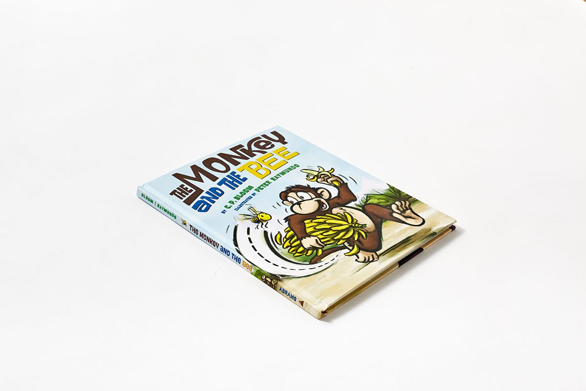 The Monkey and the Bee (The Monkey Goes Bananas) by Abrams Books for Young Readers (Image #1)
