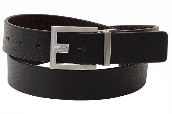 616fab8b457 Amazon.com  HUGO BOSS Sized Reversible Leather Belt  Clothing