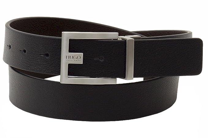 bd67220d26f8 Amazon.com  HUGO BOSS Sized Reversible Leather Belt  Clothing