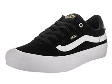 vans old skool pro black black white