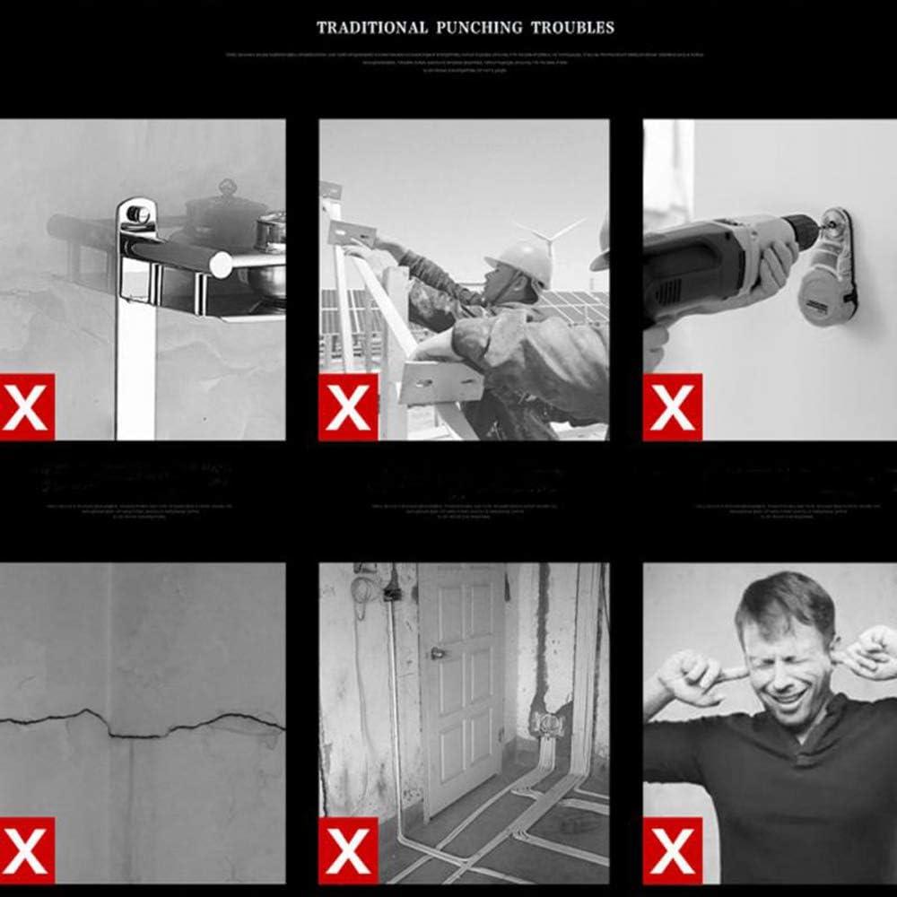 Badezimmer-Zubeh/ör 1 M Spiralst/änder DIANZHI Haartrockner-Halterung Ablage Wandhalterung Haarf/öhn-H/ängeregal F/ön-Organizer