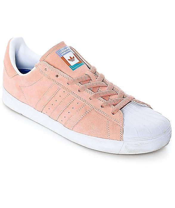 85fe7072bb877 Amazon.com   adidas Superstar Vulc Adv CG4839 - Pastel Pink - US ...