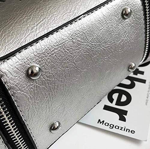Bandoulière Sac À Mzdpp 4 Couleurs Bandoulière Simple Pochette Silver Carrée Femme Rqxww1OP