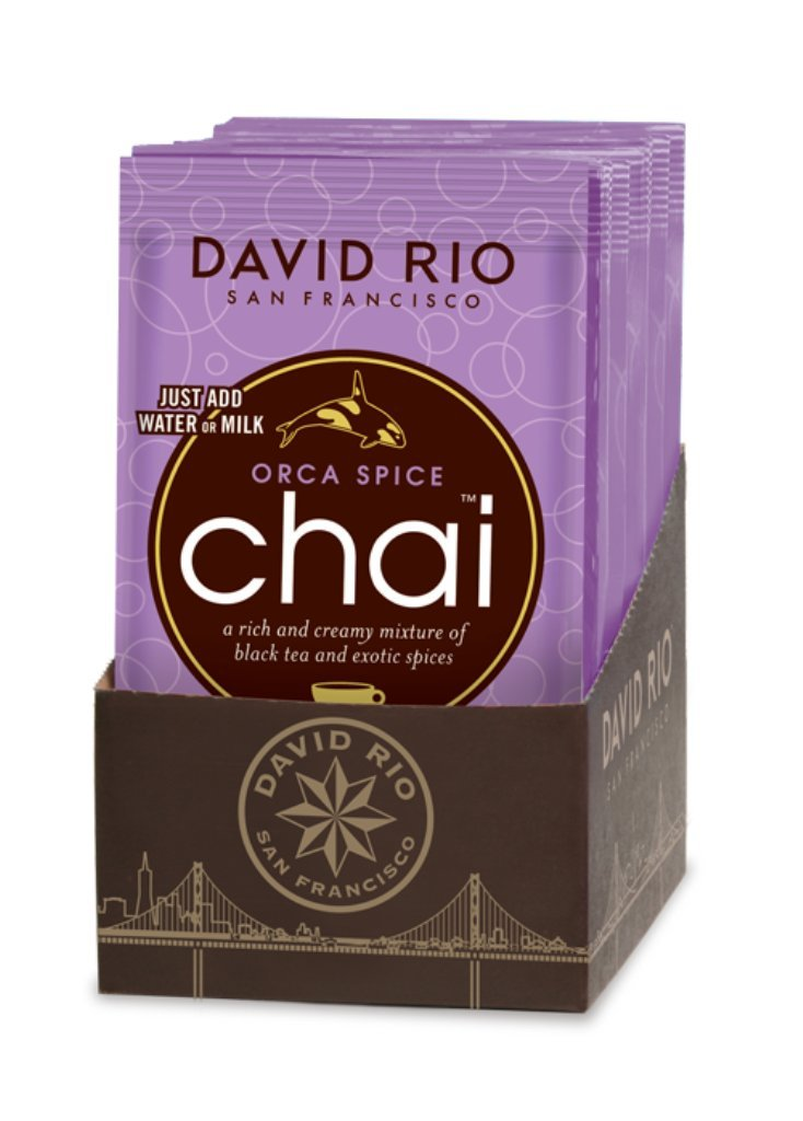 David Rio Sugar Free Chai Tea Single Serve Packets, Orca Spice, 48 Count by David Rio