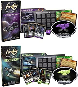Firefly Expansion Bundle: Esmeralda and Jetwash (Set of 2) by Gale Force 9: Amazon.es: Juguetes y juegos