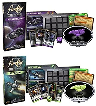 Firefly Expansion Bundle: Esmeralda and Jetwash (Set of 2) by Gale ...
