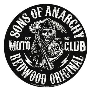 Amazon.com: Sons Of Anarchy Moto Club Reaper Sticker: Toys