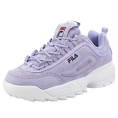 Fila Disruptor II Premium Femmes Baskets Lavender 8 UK