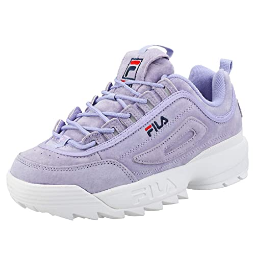 544dec6f9ff6 Fila Disruptor II Premium Womens Trainers Lavender - 8 UK  Amazon.ca ...