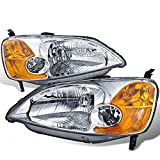 Newmar Ventana 2005-2010 RV Motorhome Pair (Left & Right) Replacement Headlights Head Lights Front Lamps