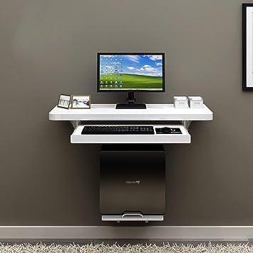 Lazy Table Folding Table Wall Mount Pc de Sobremesa Pc Portátil Computadora Portátil Oficina en Casa Niños, DNZ, Blanco, 101cm: Amazon.es: Deportes y aire ...