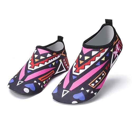 Nclon Hombres Mujer Antideslizante Secado Rápido Zapatos De Agua,Descalzo Aqua Calcetines Zapatillas Chanclas Piscina Yoga Piscina Acuàticos ...