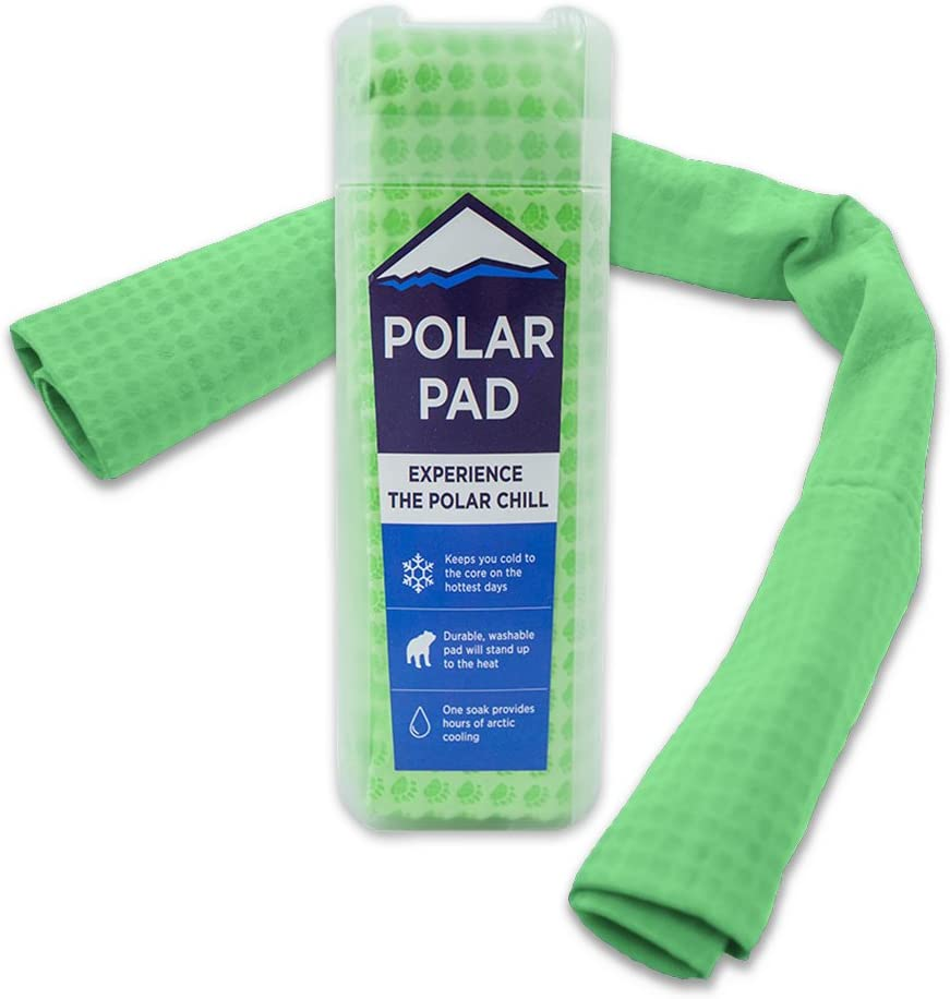 Polar Pad Cooling Towel in Green