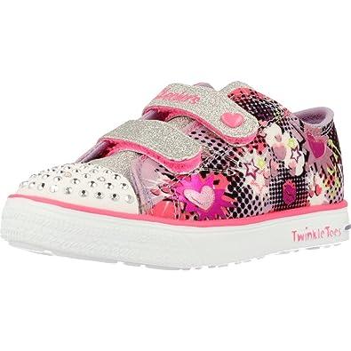 SKECHERS Baskets Twinkle Breeze Chaussures Bébé Fille PLDaZvq