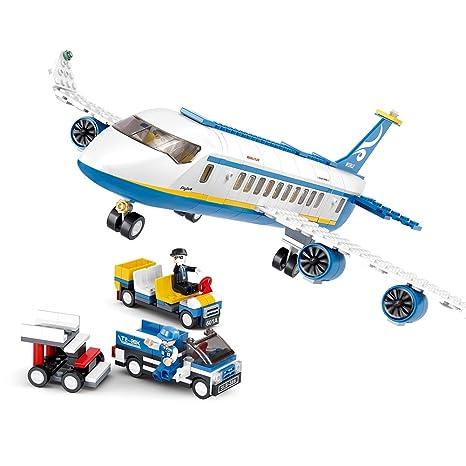 Buy Sluban Model Building Plane And Airport Cargo Terminal 463