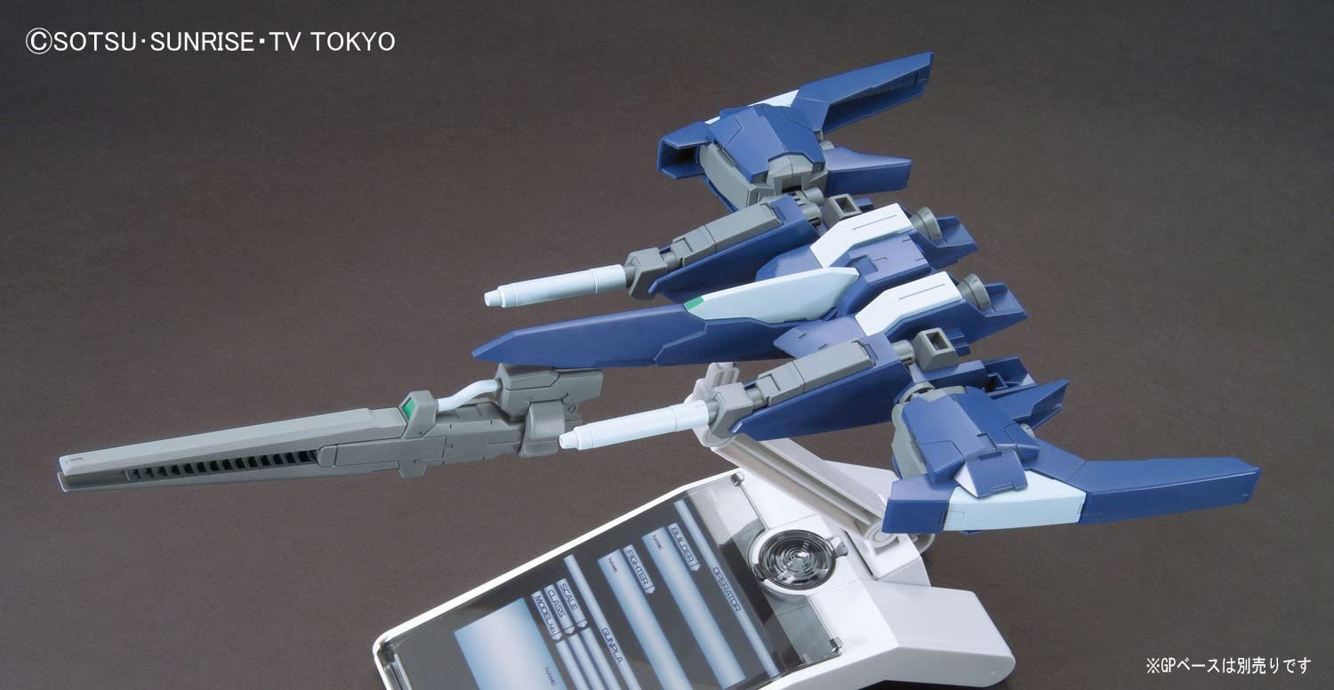 BANDAI SPIRITS HGBC Gundam Build Fighters Tri Lightning Back Weapon System MK-Ⅱ 1//144 Scale Color-Coded pre-Plastic Model