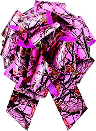 "High Quality 1/"" PINK CAMO Outdoors Hunting Girls Printed Grosgrain Ribbon"