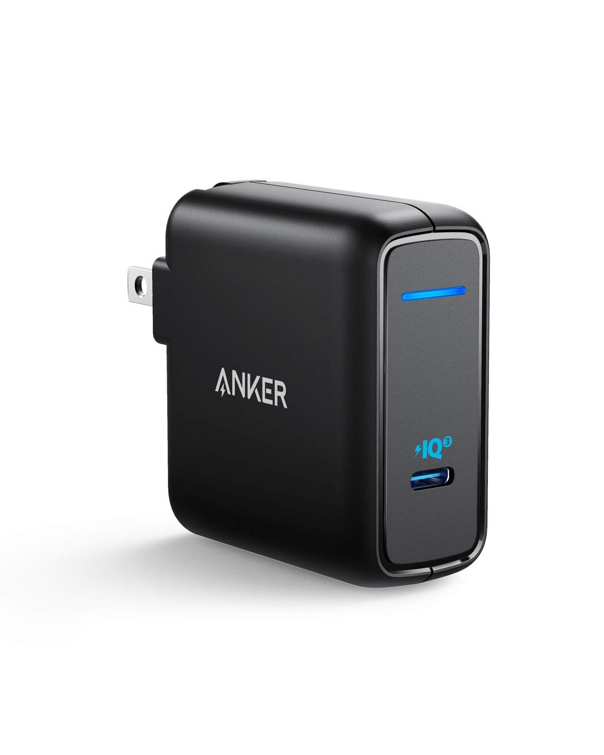 USB C Charger, Anker 60W Power Delivery Fast Charger [PIQ 3.0 & GaN], PowerPort Atom III Power Adapter for iPhone 11/Pro/Max/XR/XS/X, USB-C Laptops, MacBook Pro/Air, iPad Pro, Galaxy, Pixel and More by Anker