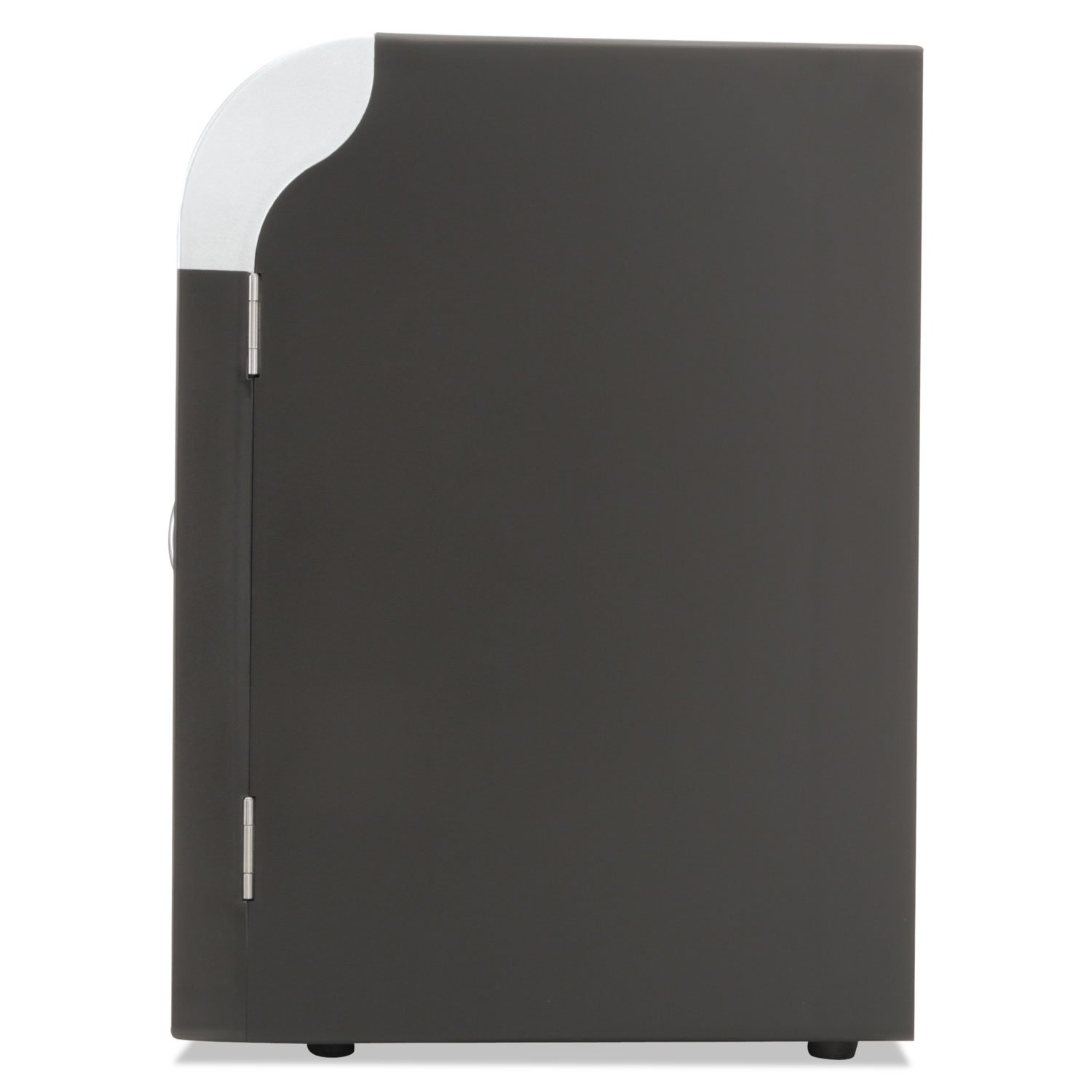 Mind Reader REF01BLK Cube Mini Coffee Station Refrigerator, 0.21 Cu. Ft, Black w/Chrome Handle by EMSREF01BLK (Image #8)