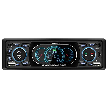 Favoto Autoradio Bluetooth Freisprecheinrichtung Auto Radio MP3 din ...